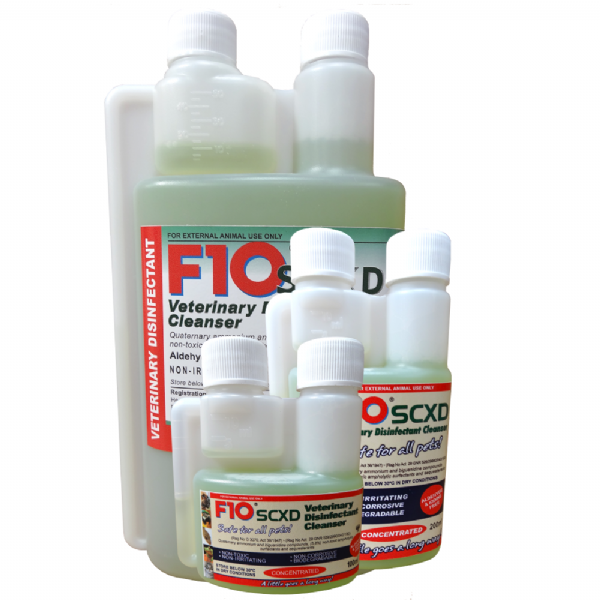 F10SCXD Veterinary Disinfectant/Cleanser